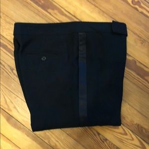 Ralph Lauren Black Label Silk Tuxedo Pants sz 8.